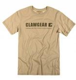 Claw Gear Logo Tee T-Shirt (Khaki)