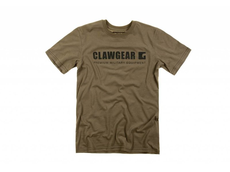 Claw Gear Logo Tee T-Shirt (RAL7013)