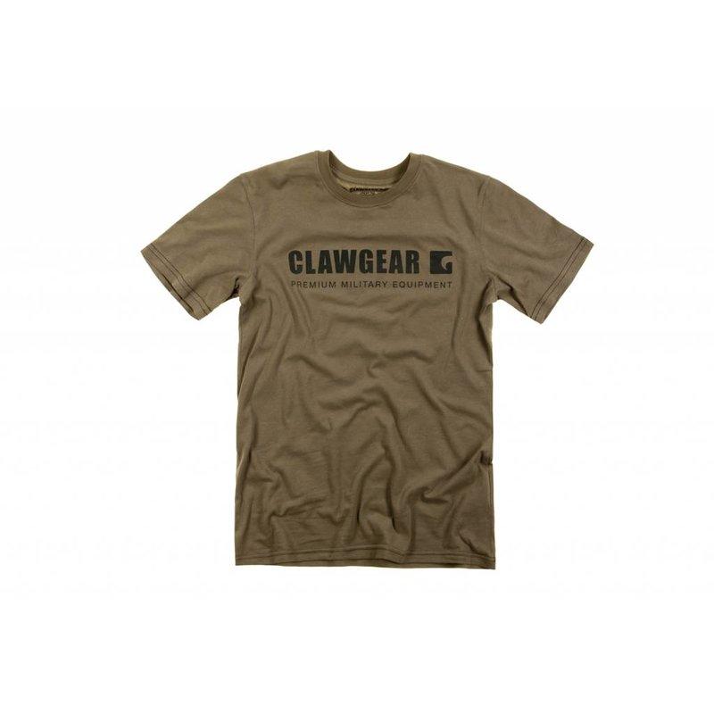 Claw Gear Logo Tee T-Shirt (RAL7013)