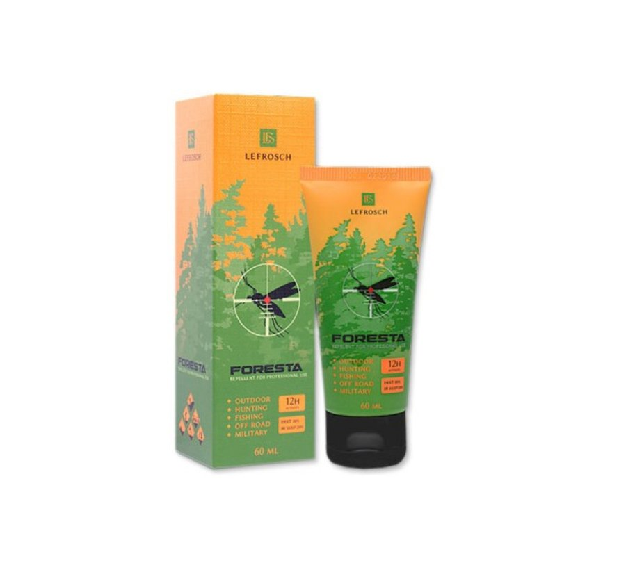 FORESTA Insect Repellent (Cream Tube 60ml)