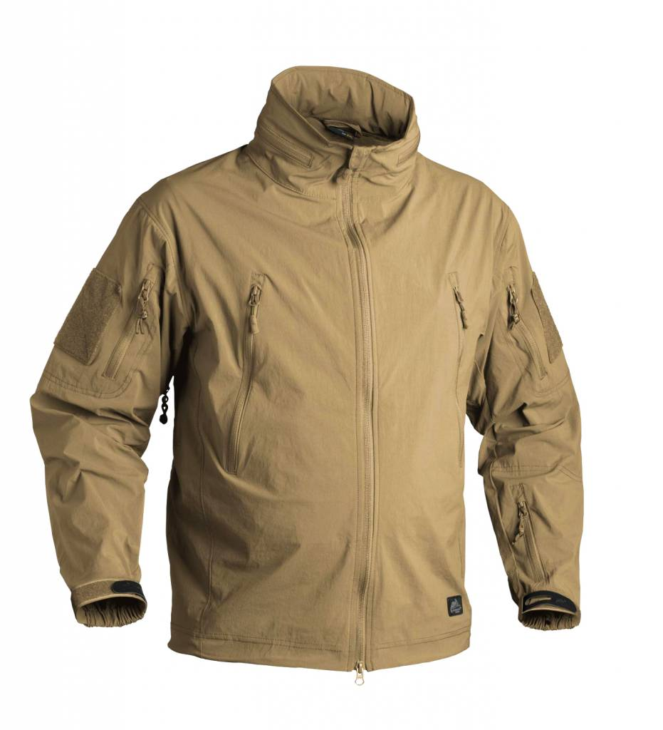 helikon trooper soft shell jacket coyote airsoftshop. Black Bedroom Furniture Sets. Home Design Ideas