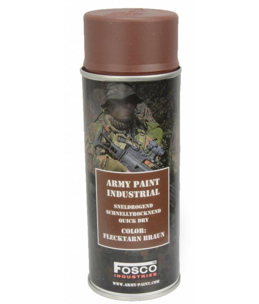 Fosco Spray Paint Flecktarn Braun 400ml