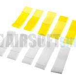 Invader Gear Team Strap Set (Yellow + White)