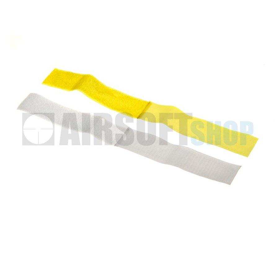 Team Strap Set (Yellow + White)