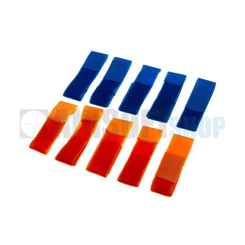 Invader Gear Team Strap Set (Blue + Orange)