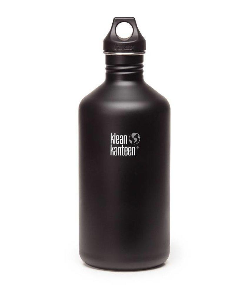 Klean Kanteen Classic 1.9L Drinkfles (Shale Black)