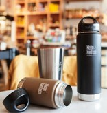 Klean Kanteen Vacuum Insulated 355ml Isolatiefles (Brushed Stainless)