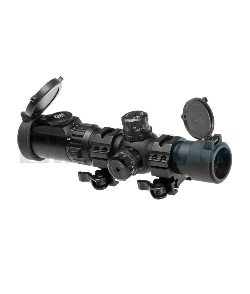 Leapers 1-4.5x28 IEMDQ 30mm Accushot Tactical TS Scope