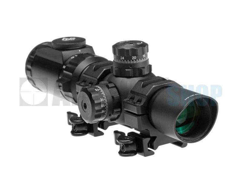 Leapers 1-4.5x28 IEMDQ 30mm Accushot Tactical TS Scope