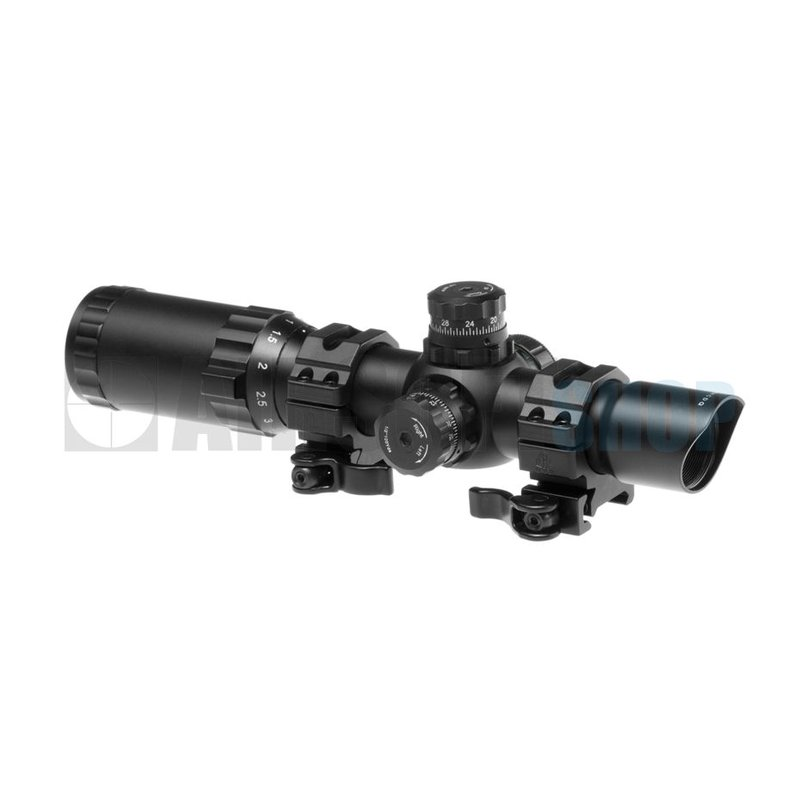 Leapers 1-4x24 30mm CDQ Accushot Tactical TS Scope