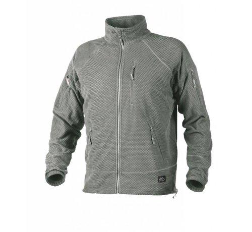 Helikon Alpha Tactical Grid Fleece Jacket (Foliage Green)