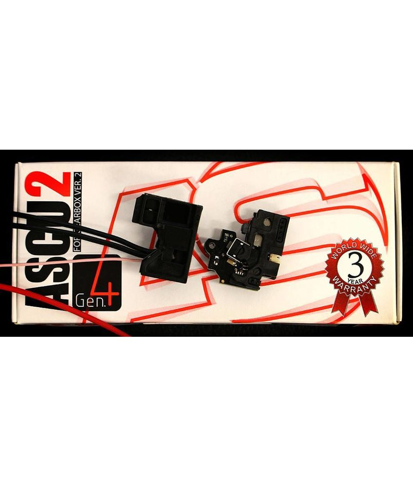 Airsoft Systems ASCU Gen. 4 Mosfet (V2 Gearbox)