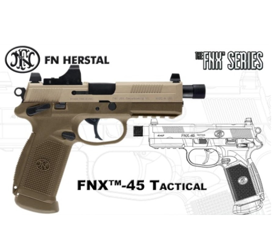 FN FNX-45 Tactical GBB (Black)