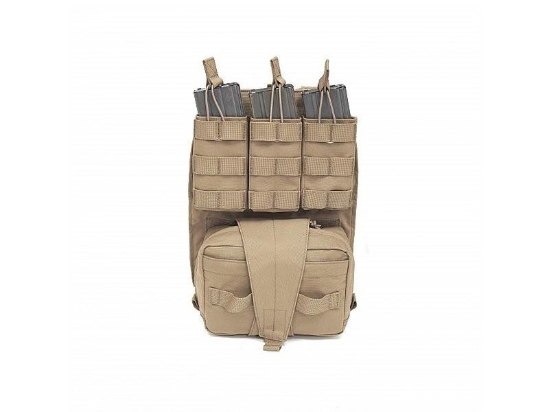 Warrior Assaulters Back Panel (Coyote Tan)