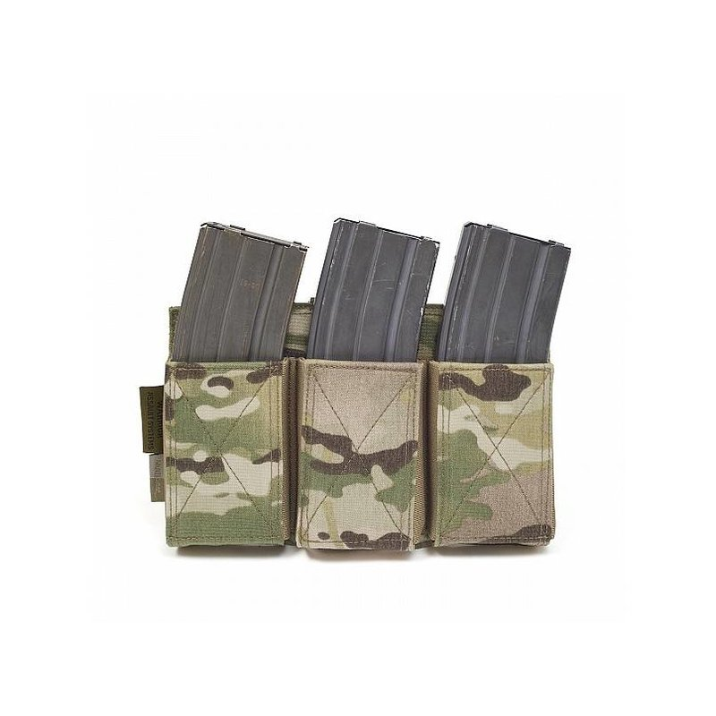 Warrior Triple Elastic Mag Pouch (Multicam)