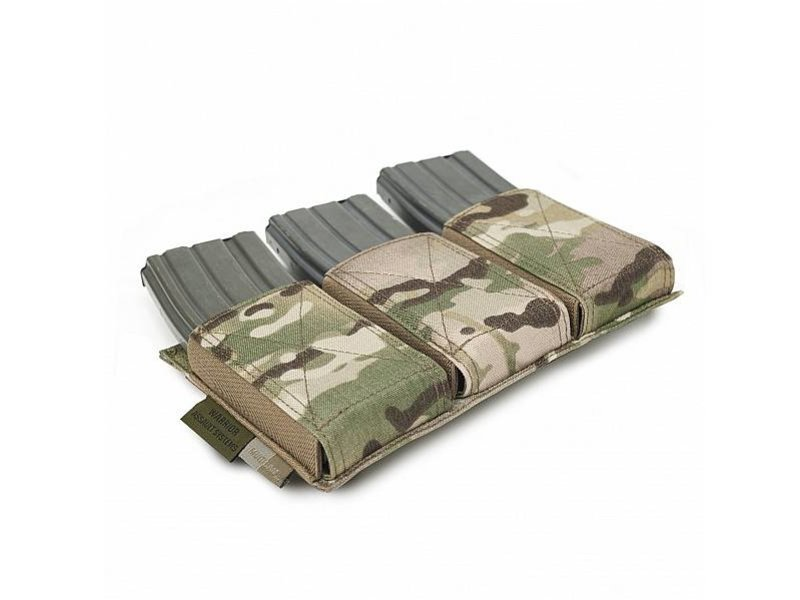 Warrior Triple Elastic Mag Pouch (Multicam)