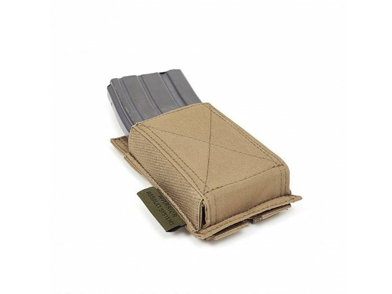 Warrior Single Elastic Mag Pouch (Coyote Tan)