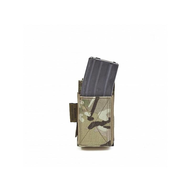 Warrior Single Elastic Mag Pouch (Multicam)