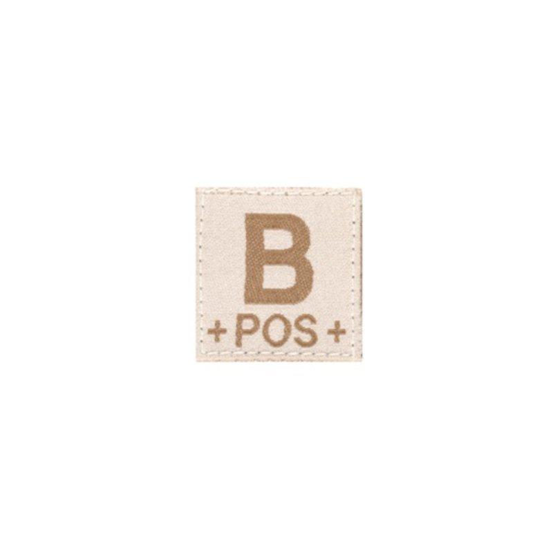 Claw Gear B POS Bloodgroup Patch (Desert)