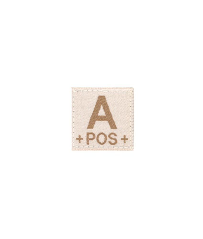 Claw Gear A POS Bloodgroup Patch (Desert)