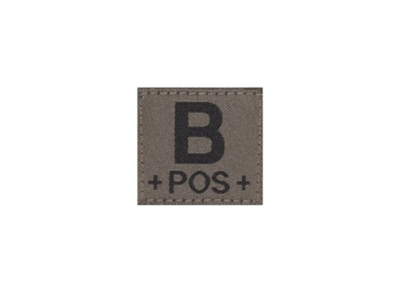 Claw Gear B POS Bloodgroup Patch (RAL7013)