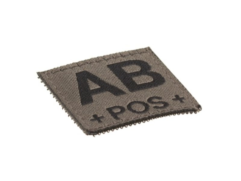 Claw Gear AB POS Bloodgroup Patch (RAL7013)