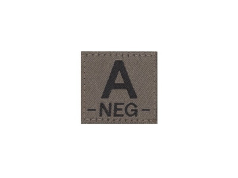 Claw Gear A NEG Bloodgroup Patch (RAL7013)