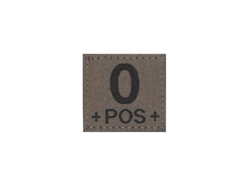 Claw Gear O POS Bloodgroup Patch (RAL7013)