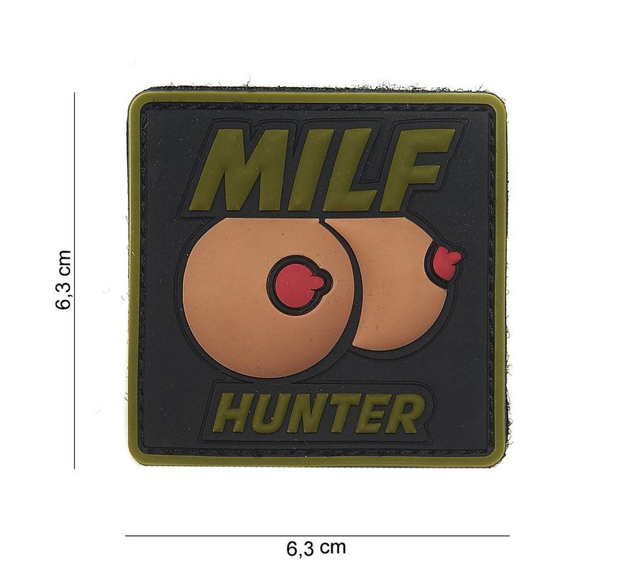MILF Hunter PVC Patch (Olive Drab)