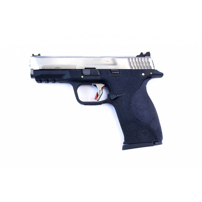WE E-Force Big Bird M&P (Silver Slide / Silver Barrel)
