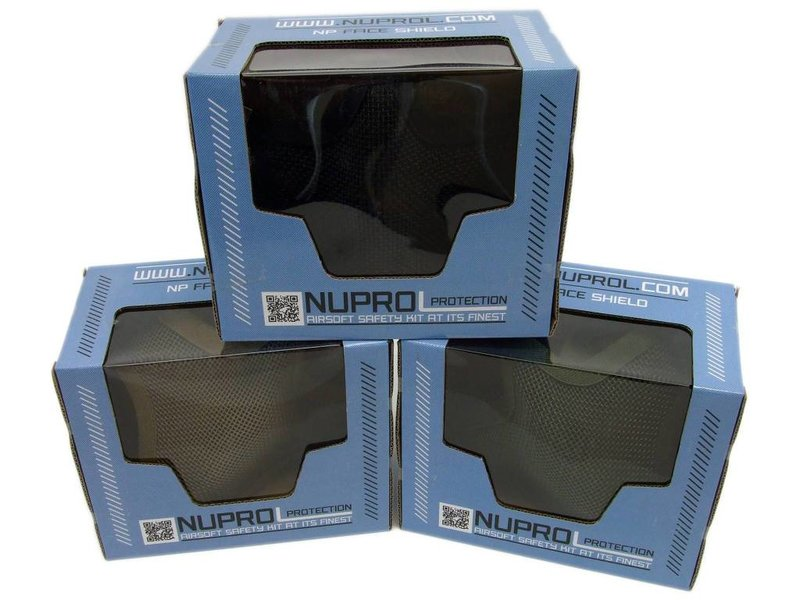 WEEU NUPROL Mesh Lower Face Shield V1 (Black)