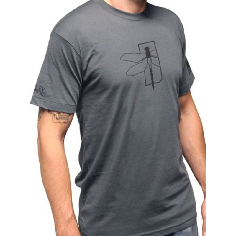 Haley Strategic Dragonfly T-Shirt (Grey)