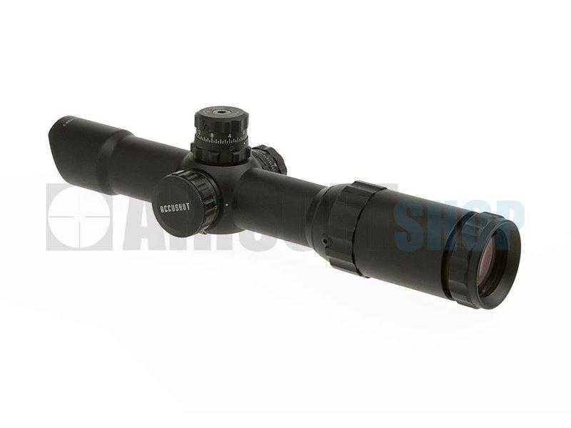Leapers 1-4x24 30mm MDQ Accushot Tactical TS Scope