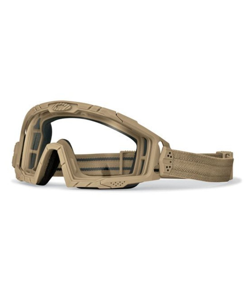Oakley SI Ballistic Goggles 2.0 Clear (Bone)