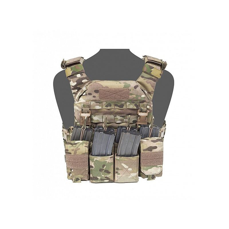 Warrior Recon Plate Carrier SAPI + Pathfinder Chest Rig (Multicam)