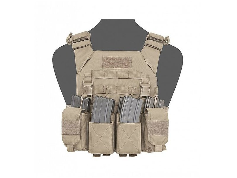 Warrior Recon Plate Carrier SAPI + Pathfinder Chest Rig (Coyote Tan)