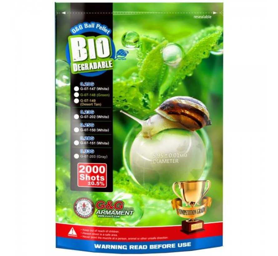 Bio Precision BB 0,33g Gray (2000rds)