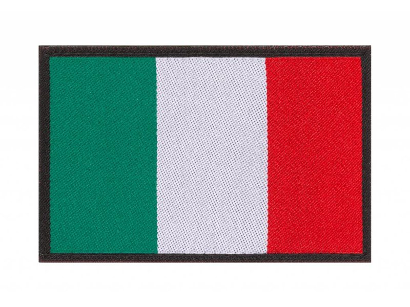 Claw Gear Italy Flag Patch - Copy