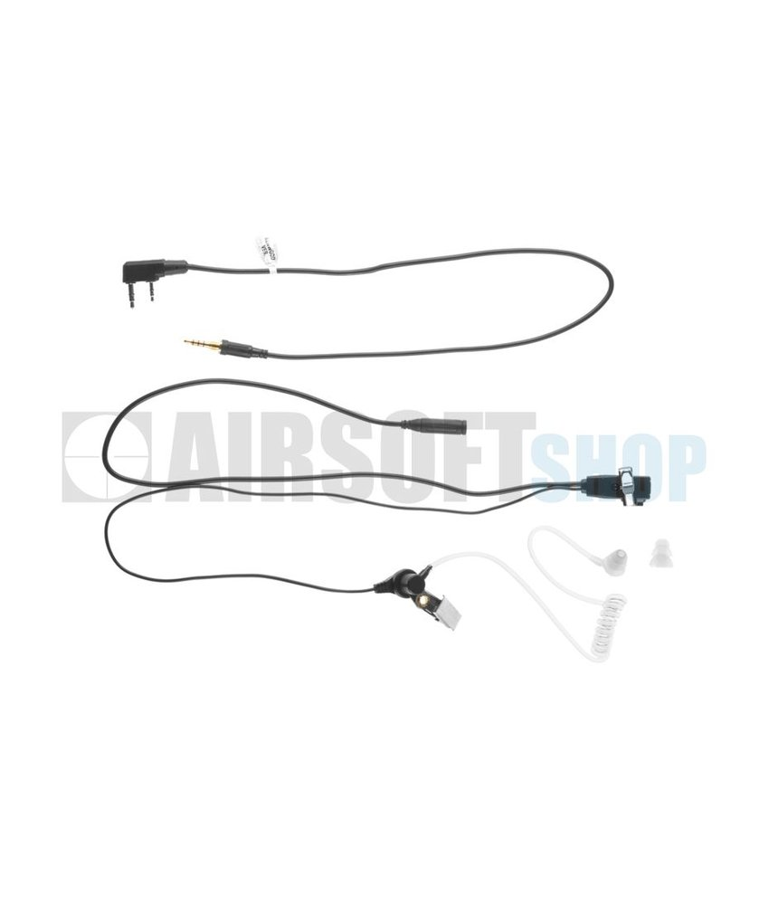 Z-Tactical FBI Style Headset (Kenwood Connector)