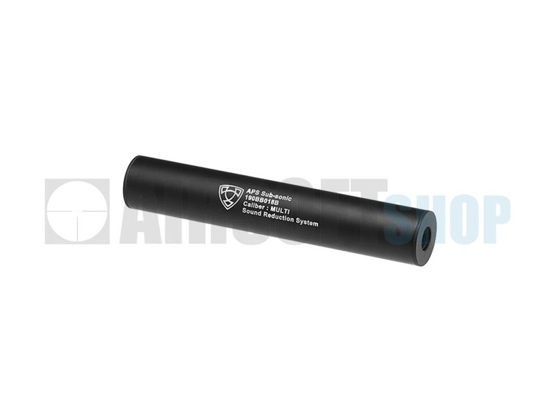 APS 190mm Silencer Black CCW (Black)