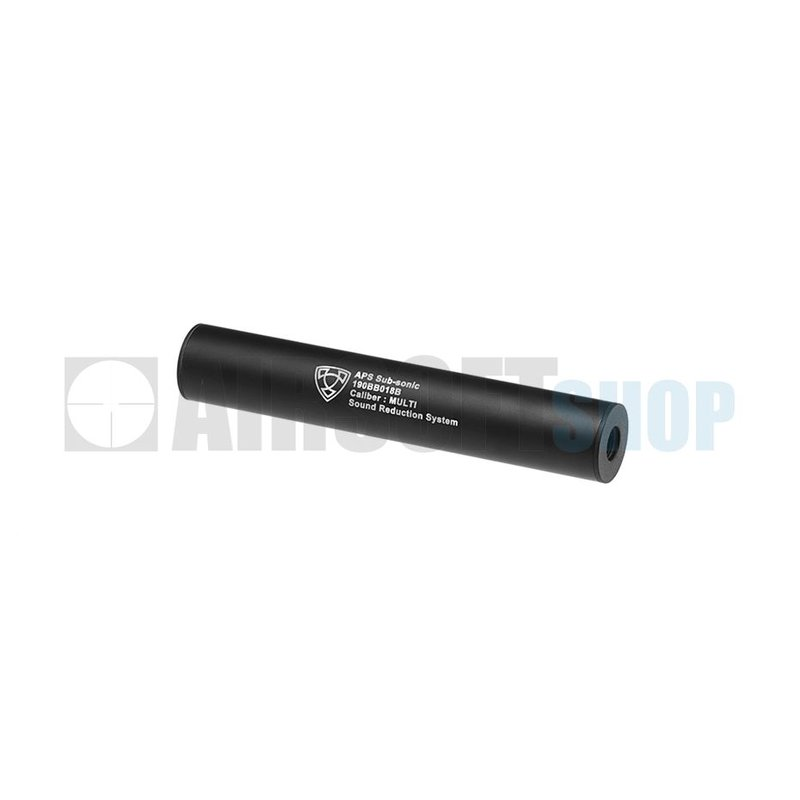 APS 190mm Silencer Black CCW (Black)