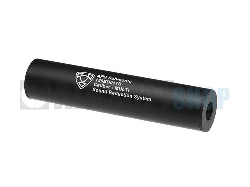 APS 150mm Silencer Black CCW (Black)