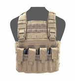 Warrior Gladiator Chest Rig (Coyote Tan)
