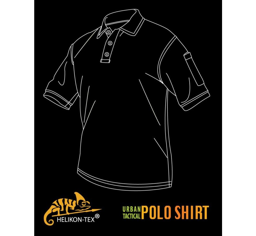 UTL Polo Shirt (Black)