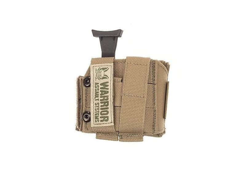 Warrior Universal Pistol Holster LEFT (Coyote Tan)