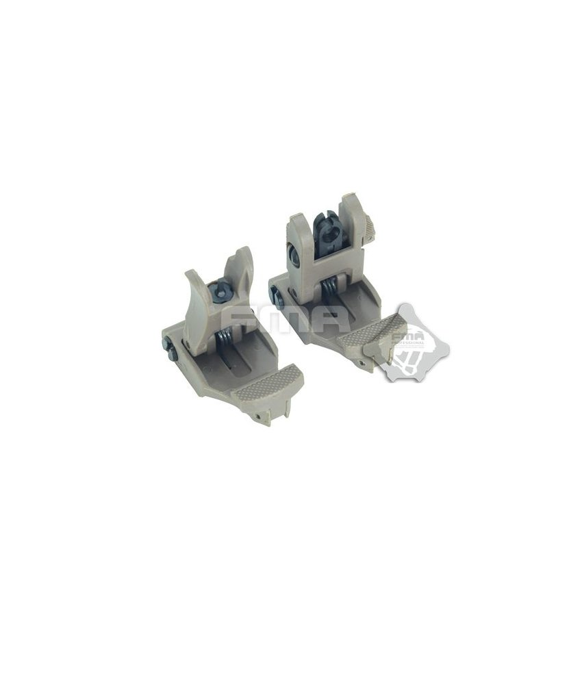 FMA 71L Folding Sight Set (Dark Earth)