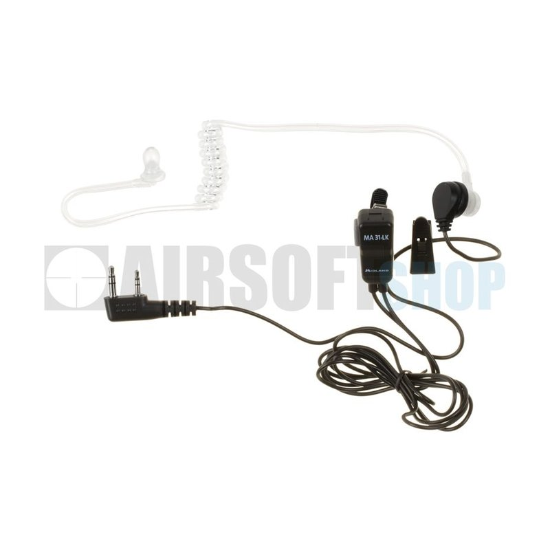 Midland MA 31 LK Security Headset (Kenwood Connector)