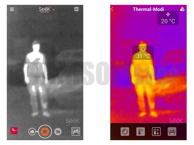 Seek Thermal Compact Thermal Imager (Android)