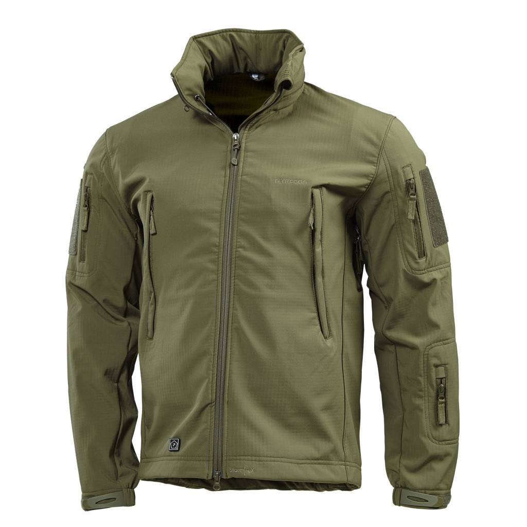 pentagon artaxes softshell jacket olive airsoftshop. Black Bedroom Furniture Sets. Home Design Ideas