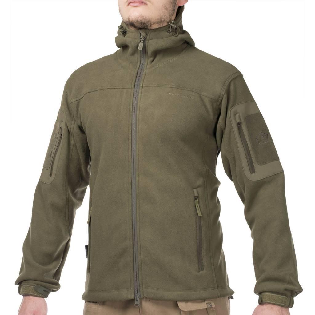 Pentagon Hercules Fleece Jacket 2.0 (Olive) - Airsoftshop